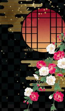 【運気アップ】大人かわいい♡和柄・八重桜 画像(1)
