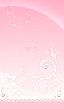 【運気アップ】大人かわいい♡キラキラ・桜 画像(1)