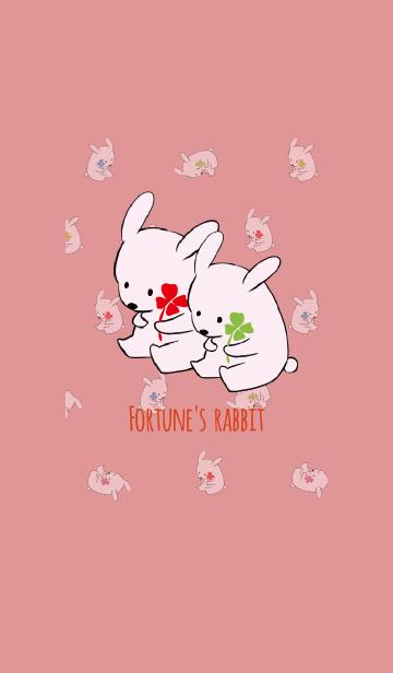 レッド 赤 / 風水 全幸運のウサギの画像(表紙)