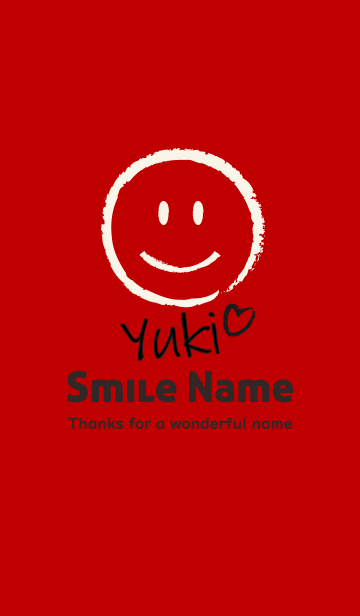 Smile Name ゆきの画像(表紙)