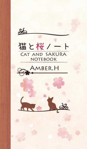 猫と桜ノート 3の画像(表紙)
