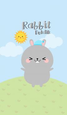 Lovely Gray Rabbit Duk Dik Theme 2 (jp) 画像(1)