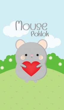 Poklok Gray Mouse Theme (jp) 画像(1)