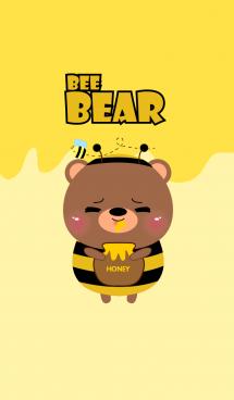 Cute Bee Bear Theme 2 (jp) 画像(1)