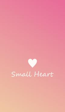 Small Heart *Peach* 画像(1)