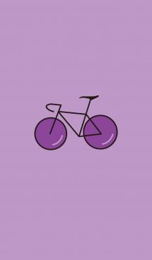ロードバイク(紫)(ブドウ) 画像(1)