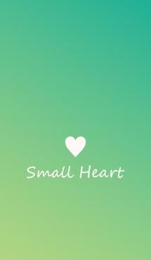 Small Heart *Green Gradation 2*