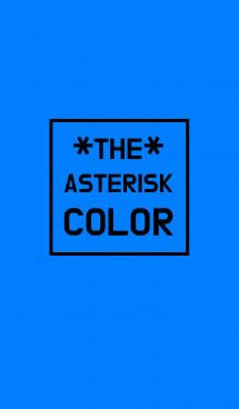 カラー アスタリスク 3 画像(1)