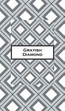 グレーの菱形 画像(1)