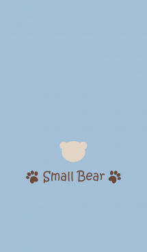 Small Bear *SMOKYBLUE 2*