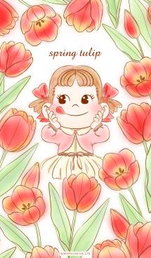spring tulip with PEKO 画像(1)