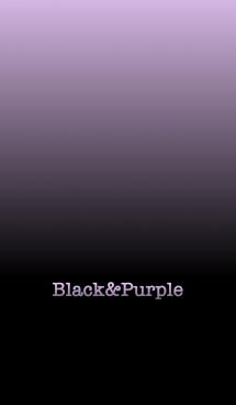 シンプル 紫と黒 ロゴ無し No.6-3 画像(1)