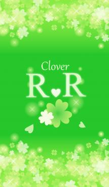 R&Rイニシャル運気UP!幸せのクローバー緑 画像(1)