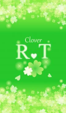 R&Tイニシャル運気UP!幸せのクローバー緑 画像(1)