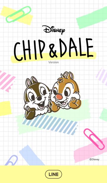 [LINE着せかえ] チップとデール(ステーショナリー)の画像