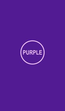 シンプル パープル [紫] No.3 画像(1)