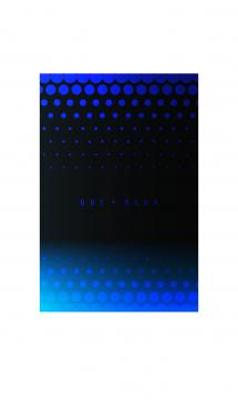 dot neon blue 画像(1)