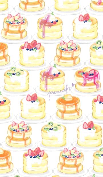 苺パンケーキ/いっぱい:オトナ水彩画の画像(表紙)