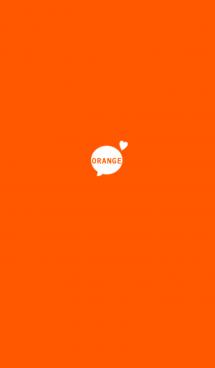 オレンジ。シンプル。 画像(1)