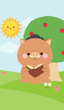 Lovely Boar in nature Theme (jp) 画像(1)