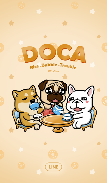 [LINE着せかえ] DOCA-Happy Afternoon Tea Partyの画像