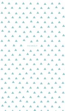 TRIANGLE / Light Blue 画像(1)