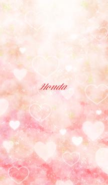 ほんだ用ハートフル♥可愛いピンク 画像(1)