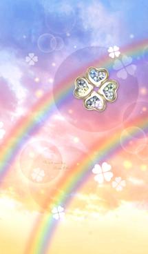 全運気アップ♡幸運4つ葉のクローバーVer.3 画像(1)