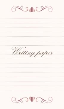 Writing paper-PINKGOLD 2- 画像(1)