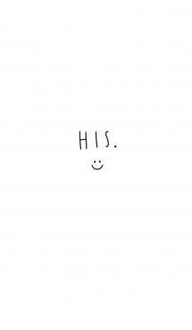 彼の。HIS。シンプル。 画像(1)