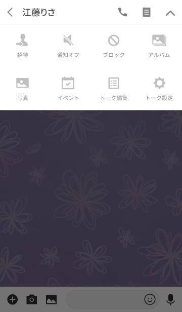 まるぴ★薄むらさき花の画像(タイムライン)