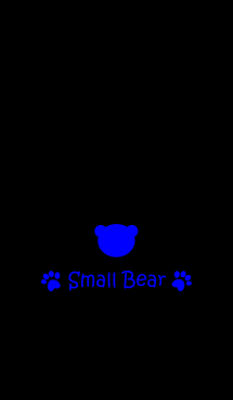 Small Bear *VIVIDBLUE*