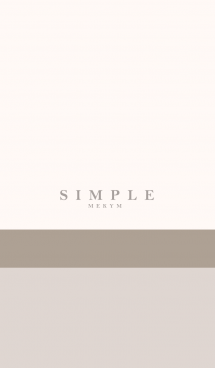 SIMPLE ICON NATURAL 9 -MEKYM-