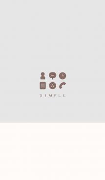 シンプル(beige gray)V.212 画像(1)