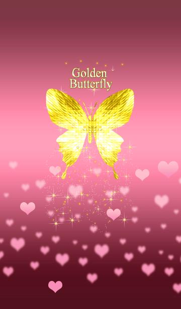 キラキラ♪黄金の蝶#47 ハートの画像(表紙)