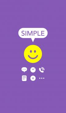 さわやかシンプル(紫)