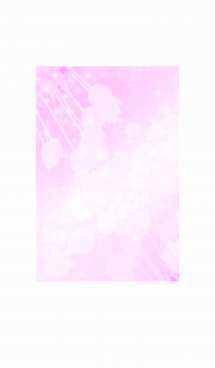 キラキラ輝くピンクの光のライン