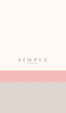 SIMPLE ICON NATURAL 8 -MEKYM-