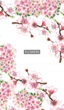 water color flowers_663 画像(1)