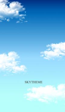スカイブルー。空。 画像(1)