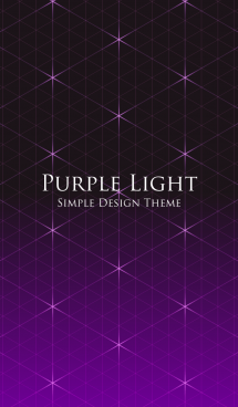 STYLISH PURPLE LIGHT 画像(1)