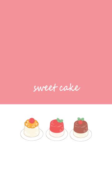 Sweet cake :)の画像(表紙)