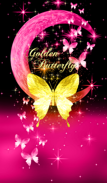 キラキラ♪黄金の蝶#49 三日月 画像(1)