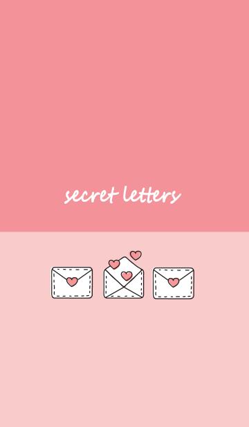 Secret letters :3の画像(表紙)