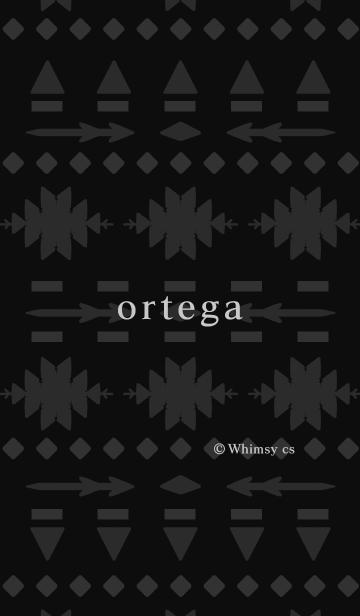 ortega black & grayの画像(表紙)