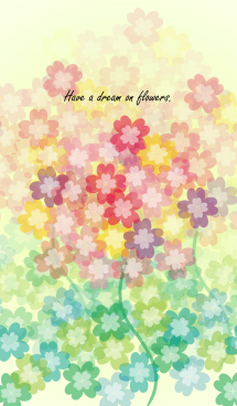 Have a dream on flowers. 画像(1)
