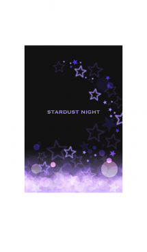 STARDUST NIGHT PURPLE -星屑の夜- 画像(1)