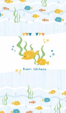 カラフルな海 (石原かおり) #fresh 画像(1)