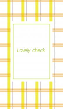 Lovely check #pop 画像(1)