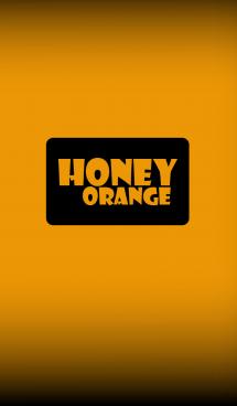 Simple honey orange in black theme (jp) 画像(1)